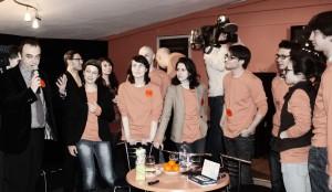 Дмитрий Бертман с участниками конкурса