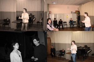 Татьяна Миткалева с артистами Геликона